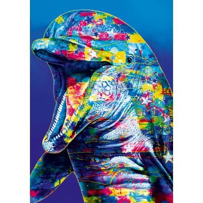 Bluebird-Puzzle-70302-P Dolphin