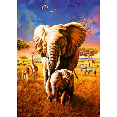 Bluebird-Puzzle-70314-P Elephant