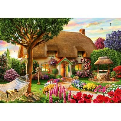 Bluebird-Puzzle-70319-P Thatched Cottage