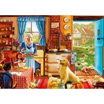Bluebird-Puzzle-70323-P Cottage Interior