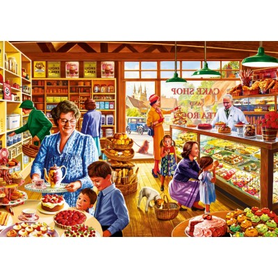 Bluebird-Puzzle-70326-P Nostalgic Cake shop