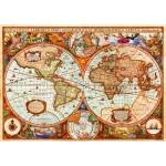 Bluebird-Puzzle-70329-P Vintage Map