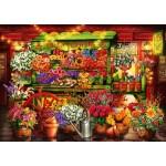 Bluebird-Puzzle-70333-P Flower Market Stall