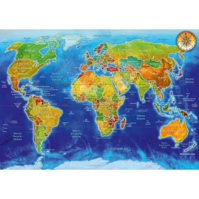 Bluebird-Puzzle-70337-P World Geo-Political Map