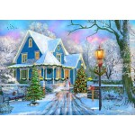 Bluebird-Puzzle-70340-P Christmas at Home