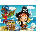 Bluebird-Puzzle-70359 The Treasure of the Pirate