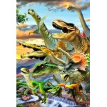 Bluebird-Puzzle-70374 Dino Sunset