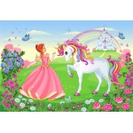 Bluebird-Puzzle-70376 The Princess and the Unicorn