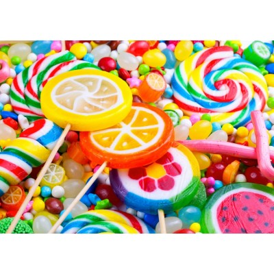 Bluebird-Puzzle-70379 Colorful Lollipops