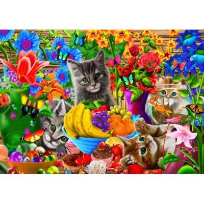 Bluebird-Puzzle-70393 Kitten Fun
