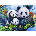 Bluebird-Puzzle-70395 Panda Family