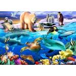 Bluebird-Puzzle-70401 Oceans of Life