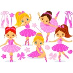 Bluebird-Puzzle-70403 Little Ballerinas