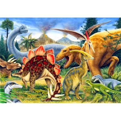 Bluebird-Puzzle-70406 Dinosaurs