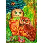 Bluebird-Puzzle-70414 Owls