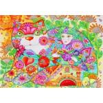 Bluebird-Puzzle-70415 Flowers