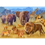 Bluebird-Puzzle-70419 Savannah Animals