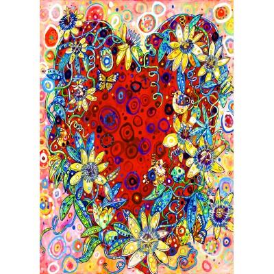 Bluebird-Puzzle-70431 Passion Flower