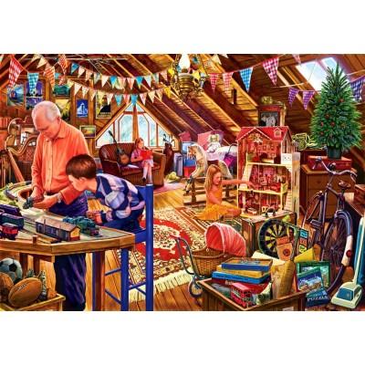 Bluebird-Puzzle-70433 Attic Playtime