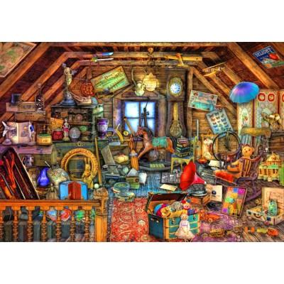 Bluebird-Puzzle-70434 Hidden Object Attic