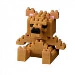 Brixies-38449017 Nano Puzzle 3D - Carte Ours