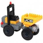 Brixies-38449142 Nano Puzzle 3D - JCB Tombereau