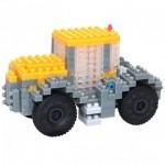 Brixies-38449148 Nano Puzzle 3D - Tracteur JCB