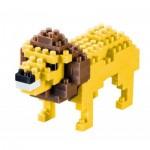 Brixies-57918 Nano Puzzle 3D - Lion