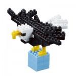 Brixies-57923 Nano Puzzle 3D - Aigle