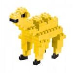 Brixies-57924 Nano Puzzle 3D - Chameau