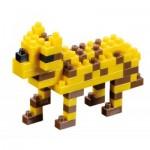 Brixies-57925 Nano Puzzle 3D - Léopard