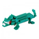 Brixies-58113 Nano Puzzle 3D - Crocodile