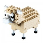 Brixies-58114 Nano Puzzle 3D - Mouton