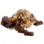 Brixies-58115 Nano Puzzle 3D - Tortue
