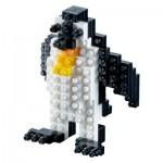 Brixies-58174 Nano Puzzle 3D - Pingouin (Level 1)