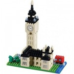 Brixies-58211 Nano Puzzle 3D - Big Ben (Level 3)