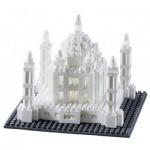 Brixies-58248 Nano Puzzle 3D - Taj Mahal (Level 3)