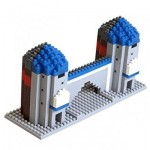 Brixies-58254 Nano Puzzle 3D - Sendlinger Tor (Level 4)