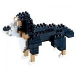 Brixies-58424 Nano Puzzle 3D - Saint-Bernard
