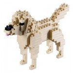 Brixies-58425 Nano Puzzle 3D - Golden Retriever