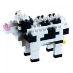 Brixies-58430 Nano Puzzle 3D - Vache