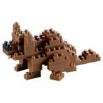 Brixies-58432 Nano Puzzle 3D - Castor