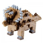 Brixies-58438 Nano Puzzle 3D - Dinosaure