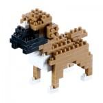 Brixies-58457 Nano Puzzle 3D - Boxer