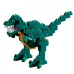 Brixies-58459 Nano Puzzle 3D - Dinosaure