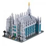 Brixies-58710 Nano Puzzle 3D - Duomo di Milano (Level 4)