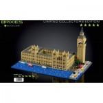 Brixies-58836 Nano Puzzle 3D - Edition Limitée - Big Ben
