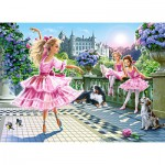 Castorland-018222 Danse du Ballet