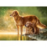 Castorland-018253 Best Friends