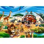 Castorland-018390 Safari Aventure
